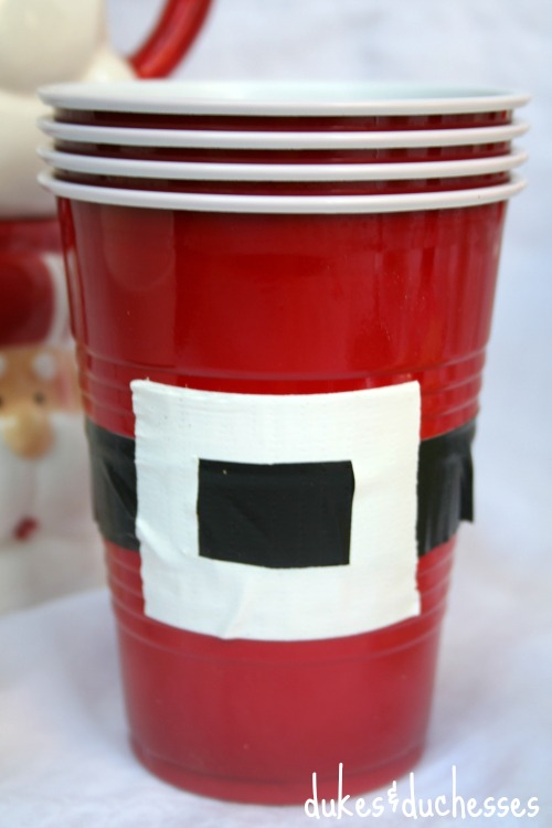 santa cups for cocoa