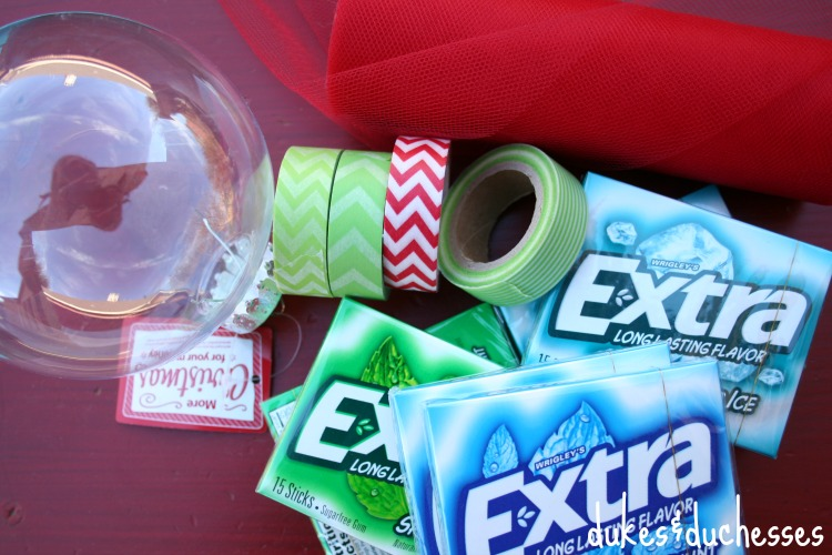 supplies for holiday gum ornament #shop