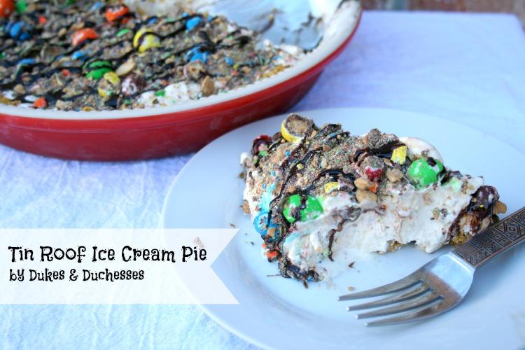 tin roof ice cream pie