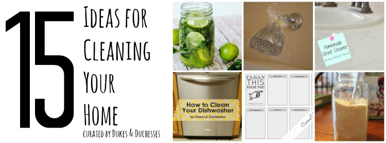 15 ideas for cleaning your home