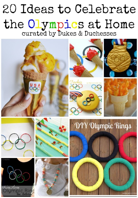 20 ideas to celebrate the olympics at home