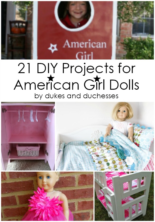 21 Diy Craft Ideas Accessories For American Girl Dolls 18