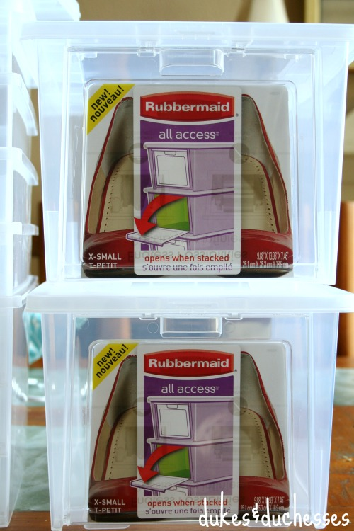 Rubbermaid All Access containers