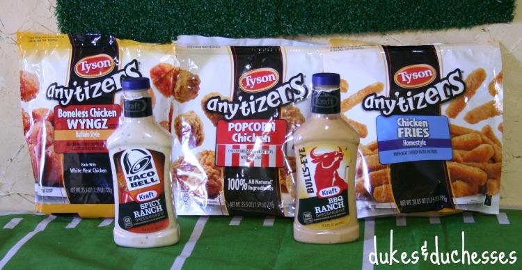 Tyson football food #ad