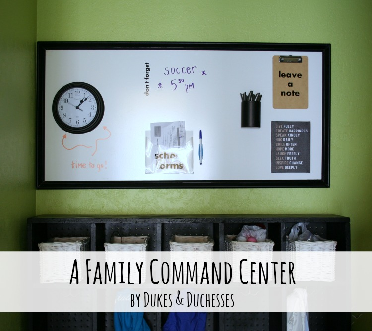 A Family Command Center Dukes