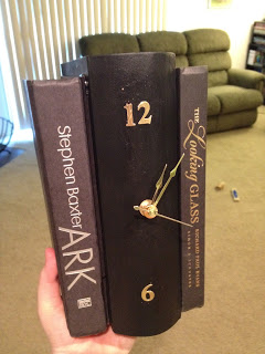 clock from books