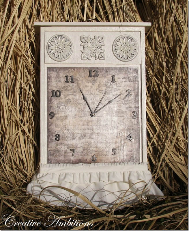 clock from drawer