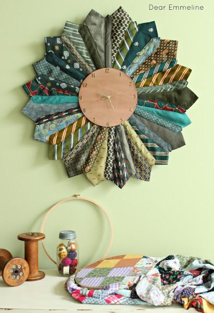 clock neckties