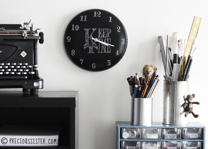 clock pot lid