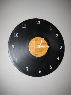 clock vintage record