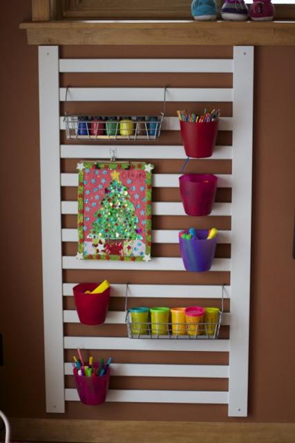 crib art rack