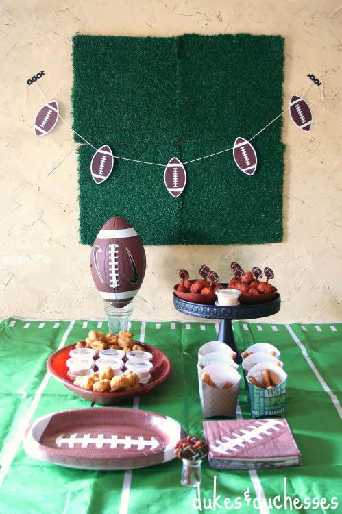 a game day party #ad