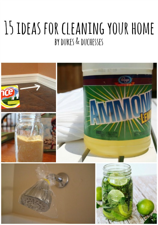 ideas for cleaning your home
