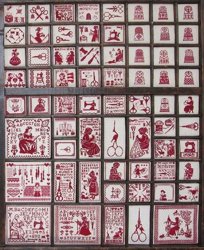 letterpress sampler
