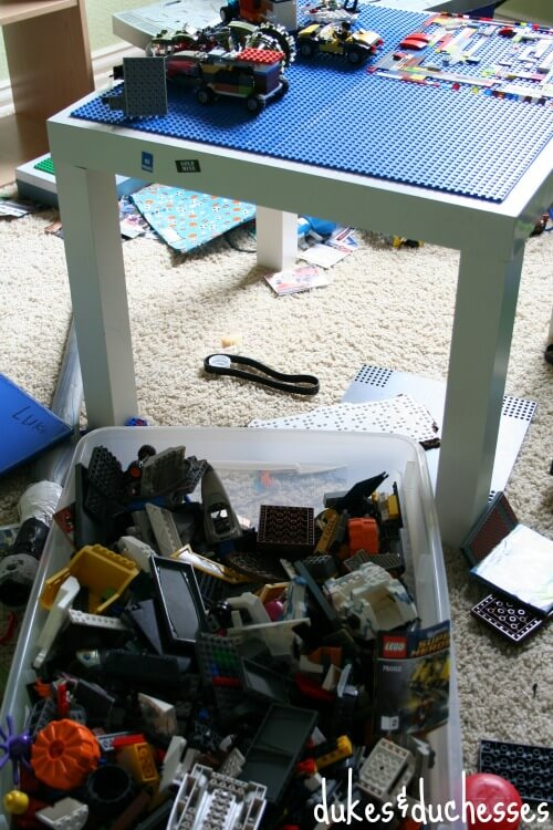 old Lego system