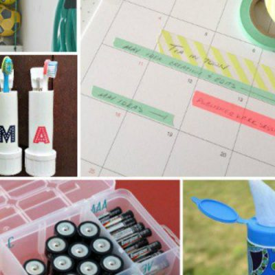 10 Quick and Easy Organization Tips
