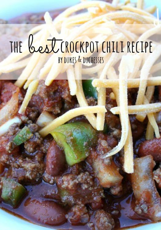 best crockpot chili recipe