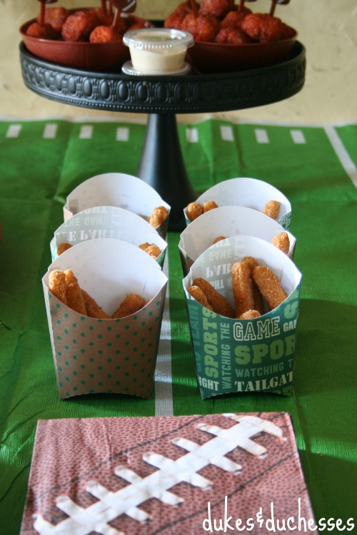 game day snacks #ad