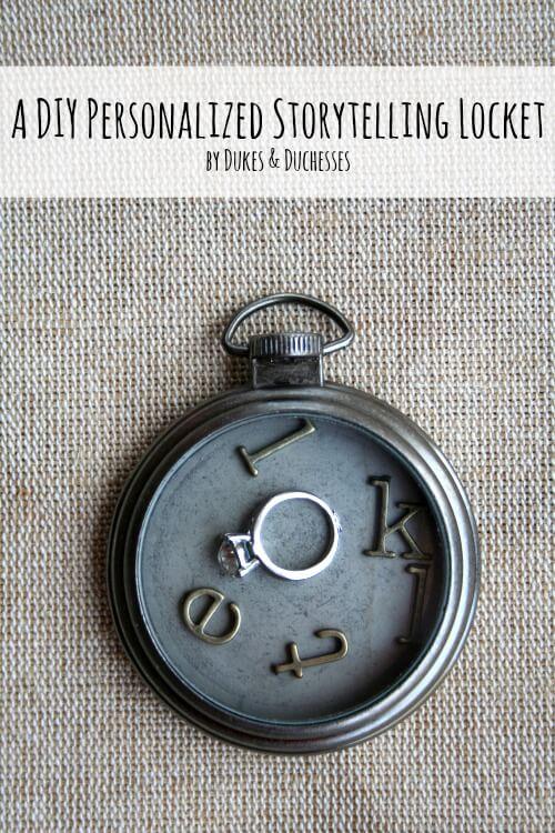 a diy personalized storytelling locket