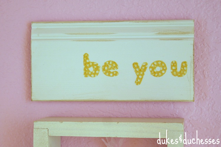 be you sign for girl room
