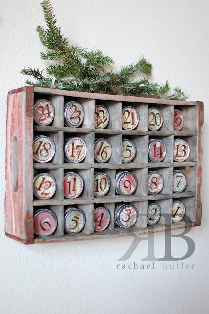 crate advent calendar