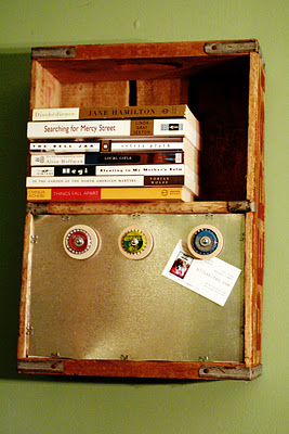 crate magnet board