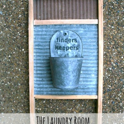 The Laundry Room Lost and Found Bucket