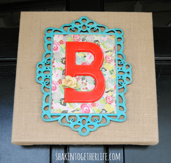 layered-wooden-frame-monogram-burlap-canvas