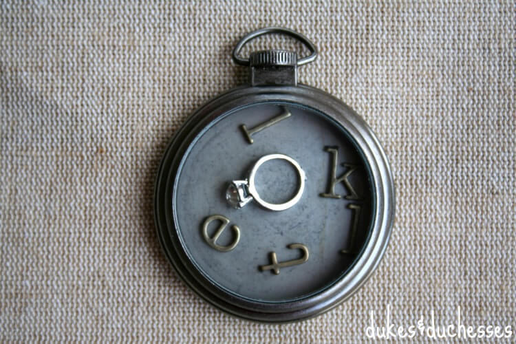 locket with storytelling charms