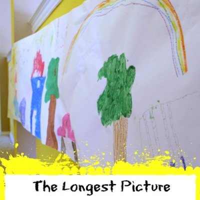 The Longest Picture Ever with Crayola #ColorfulCreations