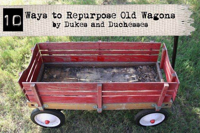 10 ways to repurpose old wagons