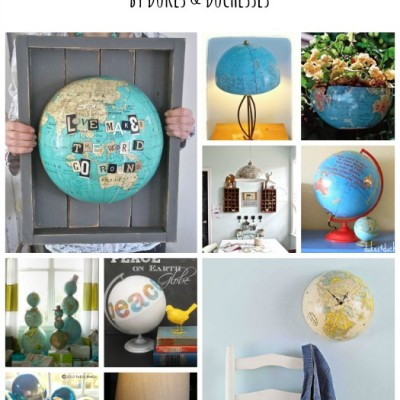 10 Ways to Repurpose a Globe