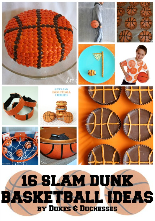 16 slam dunk basketball ideas