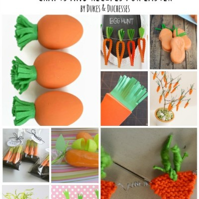 25 Carrot-Themed Crafts and Recipes for Easter