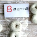 8 is great donut treat