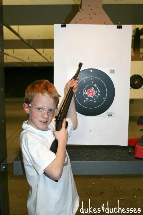 Luke and his target
