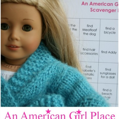 A Scavenger Hunt at American Girl Place {with a Printable}