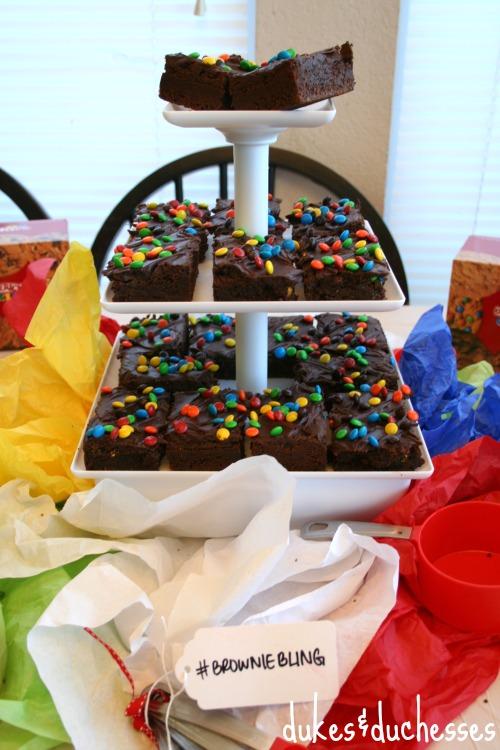 brownie display