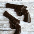 chocolate pistol party favors