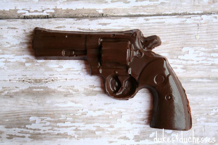 chocolate pistol