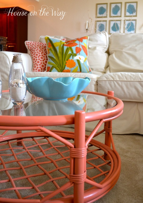color. coffee table