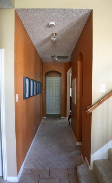 color. orange hallway