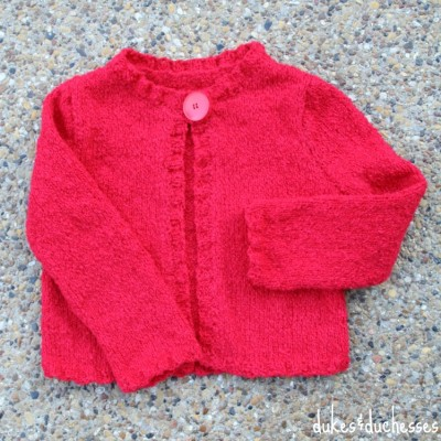 A Knit Cardigan