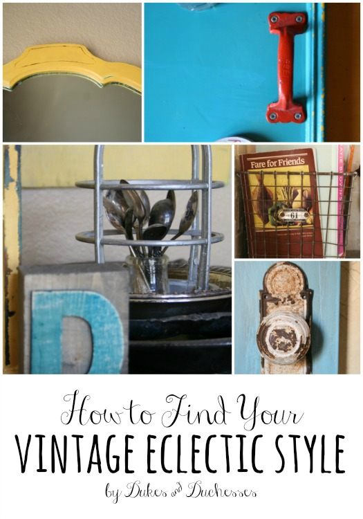 how to find your eclectic vintage style