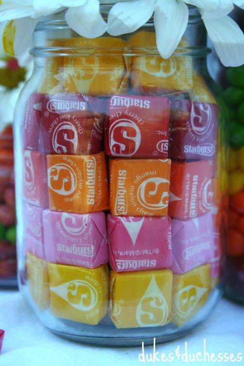 rainbow starburst jar