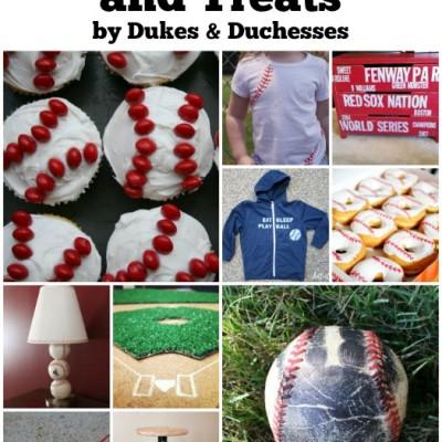 16 Baseball Crafts and Treats