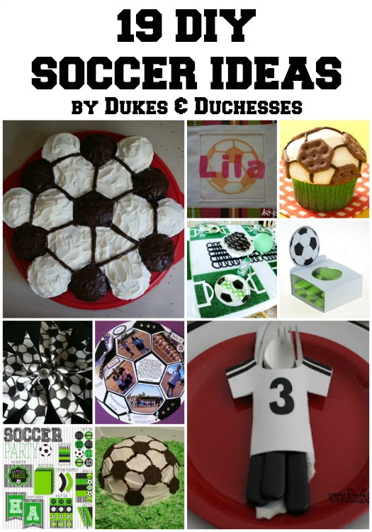 19 diy soccer ideas