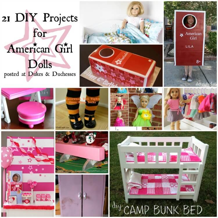 21 diy projects for american girl dolls
