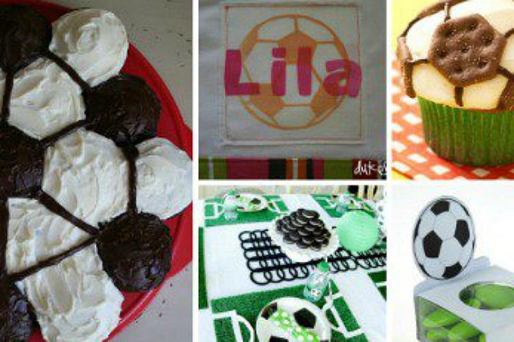 19 Diy Soccer Ideas Homemade Craft Ideas Decor Gifts Etc