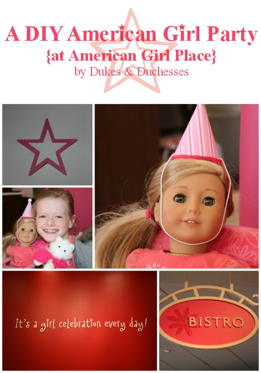 DIY american girl birthday party